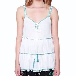 Willow & Clay Embroidered Tank Top
